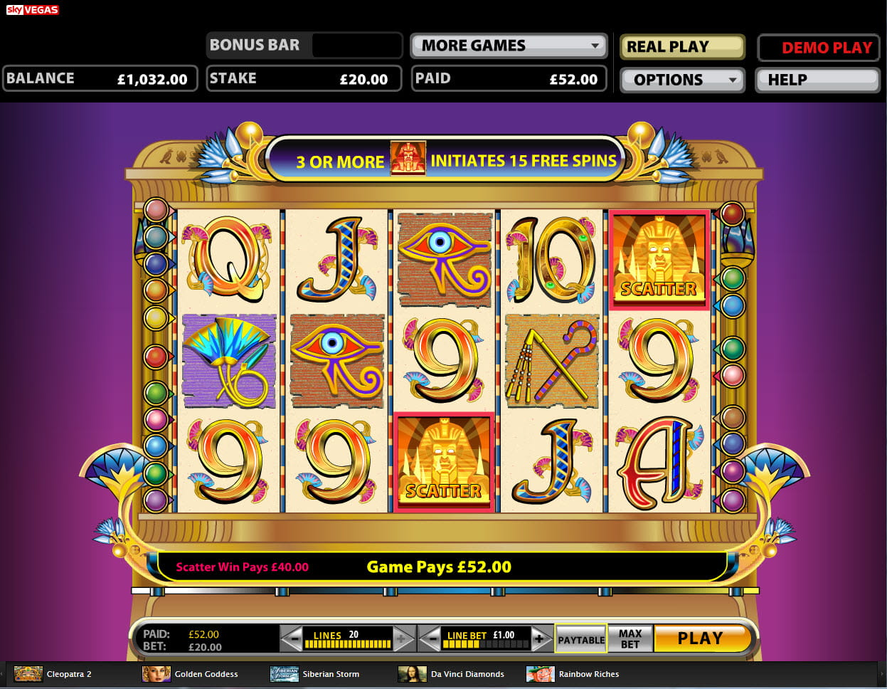 free slot machines sky vegas